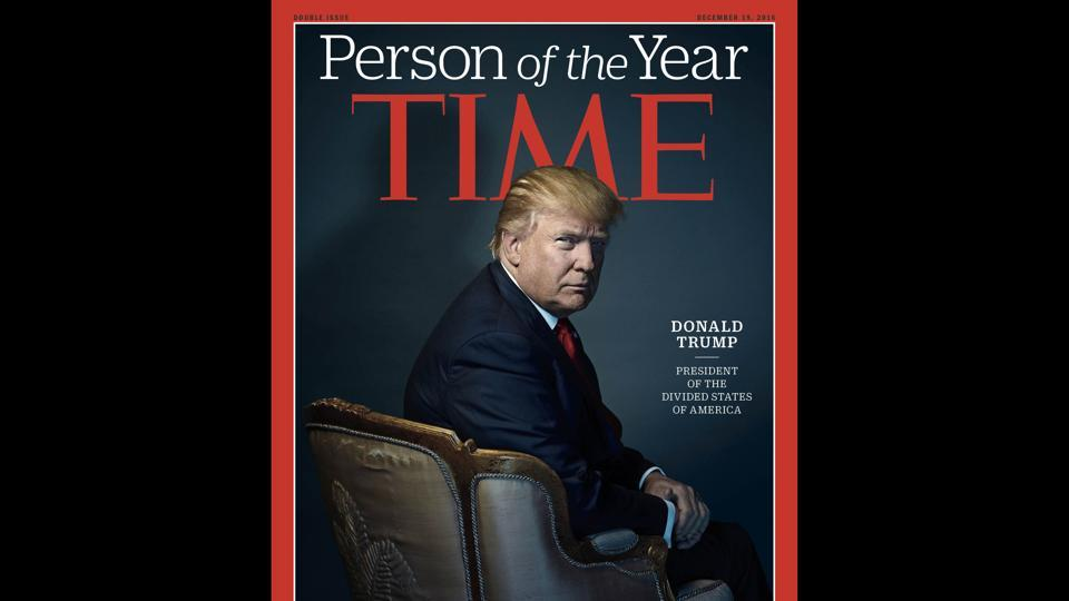 Donald Trump,Time person of the year,Time Magazine