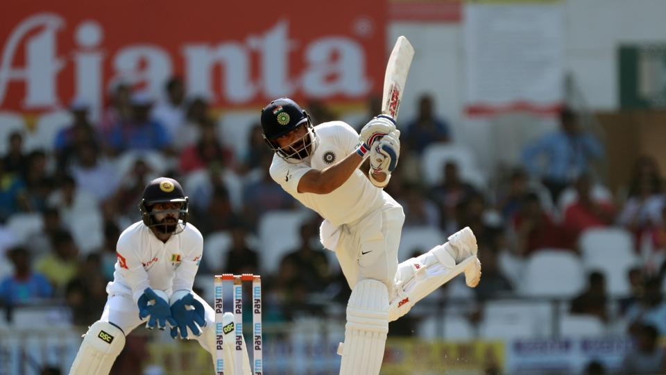 Virat Kohli continued to make rapid progress as he registered his seventh score of 150-plus in Tests.  (BCCI)