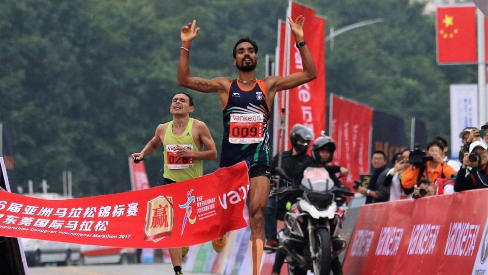 Gopi Thonakal,Asian Marathon Championship,Marathon running