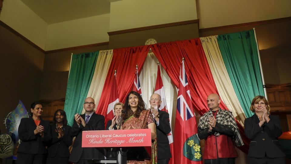 Hindus in Canada,Dipika Damerla,Ontario's minister of seniors affairs