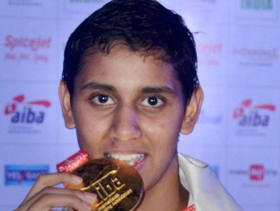 Shashi Chopra clinched the gold in the 57 kg category. (PTI)