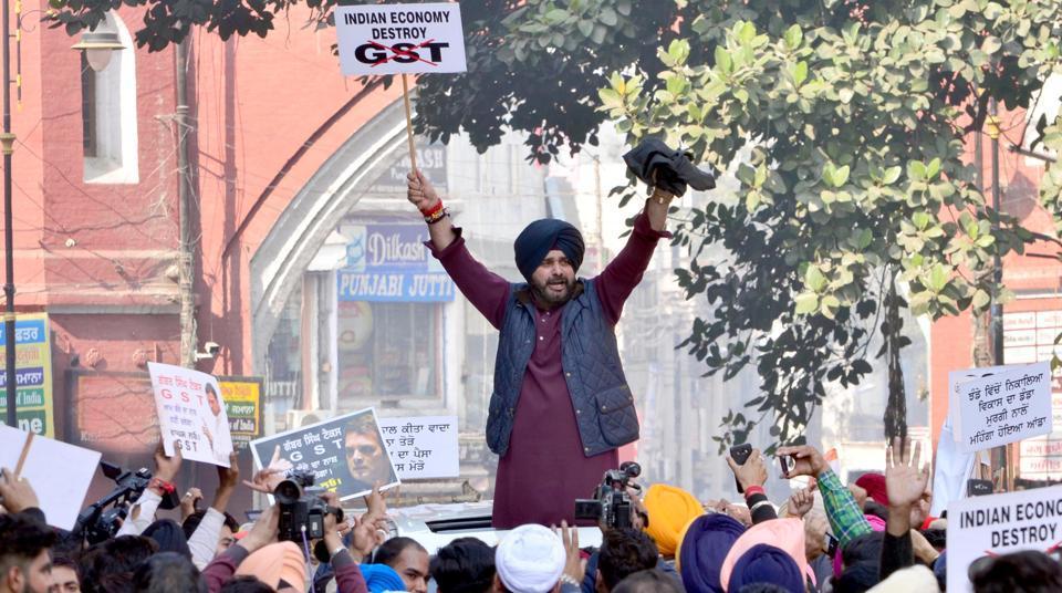 Gabbar Singh Tax,GST,Navjot Singh Sidhu