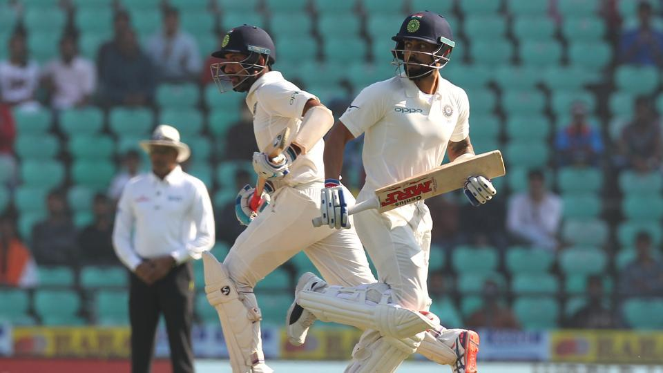 Virat Kohli and Cheteshwar Pujara continued on their merry ways as they strung together a 183-run stand for the third wicket.  (BCCI)