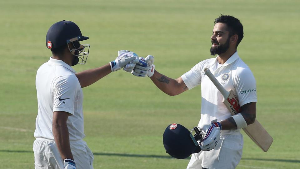 Virat Kohli's fifth double ton as captain helped him draw level with West Indies batsman Brian Lara, who had also smashed five double centuries as captain.  (BCCI)