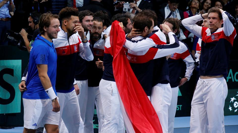 Davis Cup,Davis Cup final,France vs Belgium