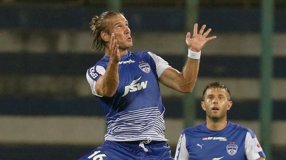 Erik Paartalu scored both of his goals in the first half. (ISL )