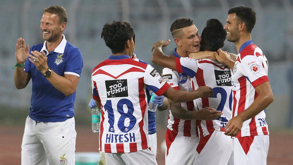 It seemed like the perfect time for ATK to start their comeback. (ISL)