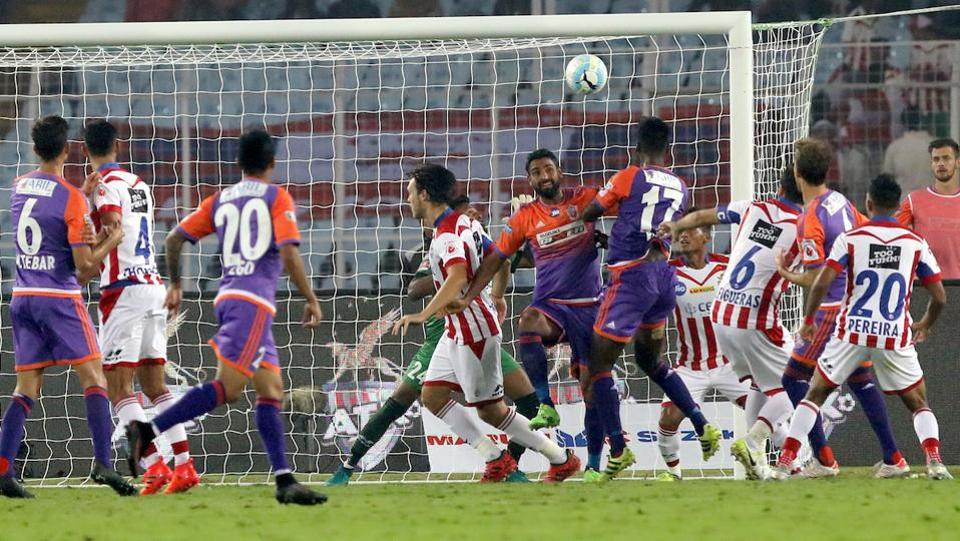 It was not to be. Because Pune's Rohit Kumar headed in from a corner just a minute later. (ISL)