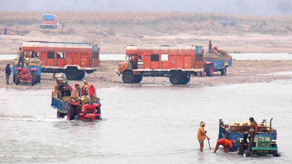 Uttarakhand news,Haridwar,Special anti-quarrying squad