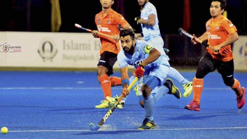 Hockey World League Final,Manpreet Singh,Indian hockey team