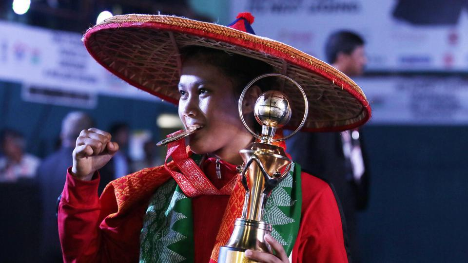 Ankushita Boro's final bout was closely followed in Guwahati, with the boxer hailing from Assam. (AP)