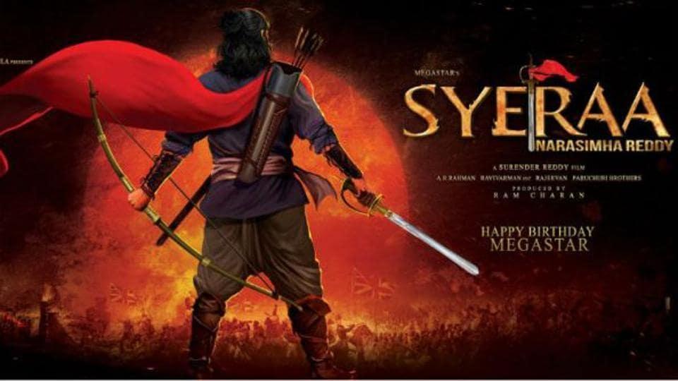 Chiranjeevi plays a freedom fighter in Sye Raa Narasimha Reddy.