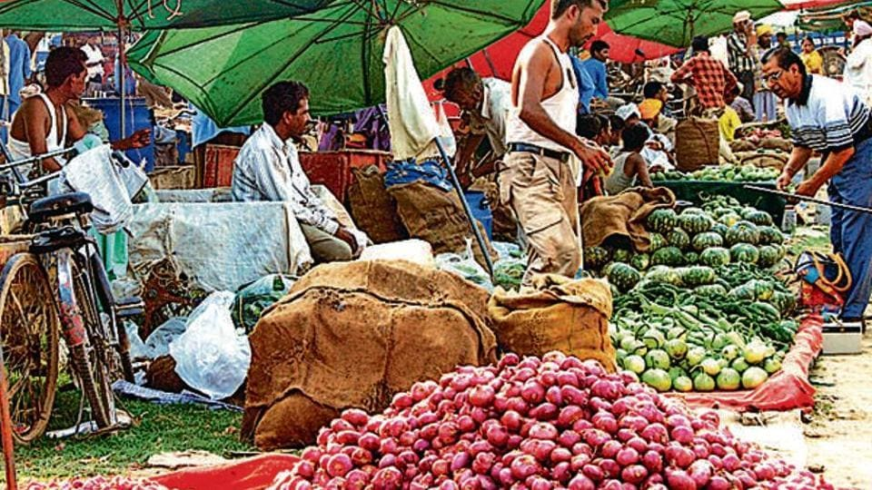 Onion being sold between Rs 60 and Rs 70 per kg. Three days back, it was priced at Rs 45 per kg.