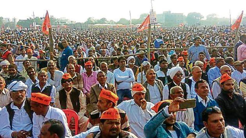 show of strength,Haryana,Jat quota demand