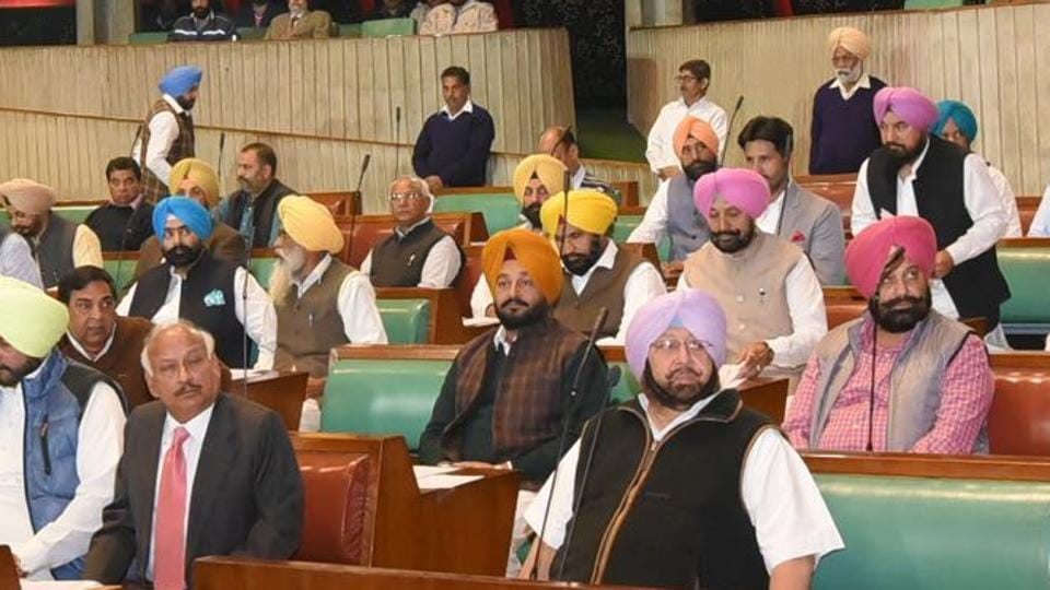 The winter session of the Punjab assembly got underway on Monday.