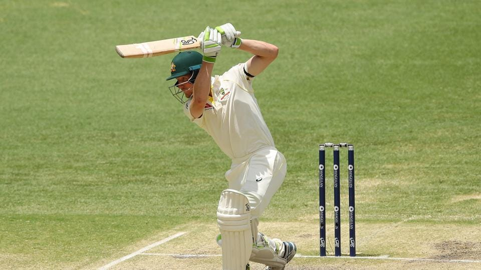 Cameron Bancroft slammed 82* as Australia romped home to a 10-wicket win. The opening stand was Australia's best in a successful run-chase in the last 87 years.  (Getty Images)