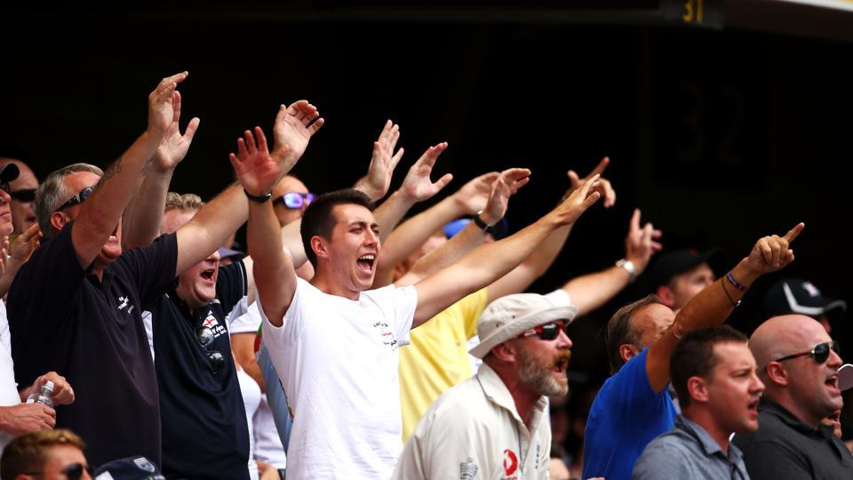 Aided by the vocal Queensland crowd, Australia raced away to a 1-0 lead in the five-match Ashes series.  (Getty Images)