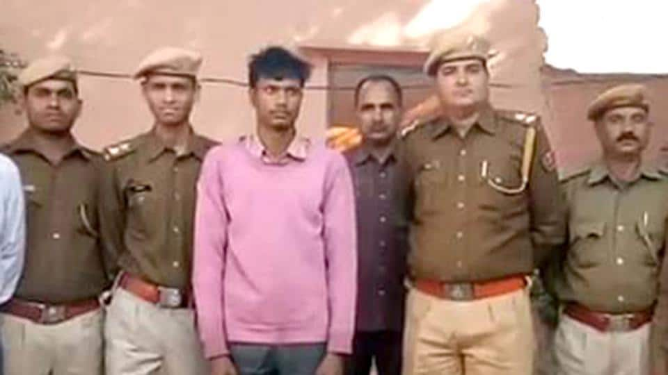Bharatpur police arrested the accused Yunus Khan, a labourer from toast factory on Monday.