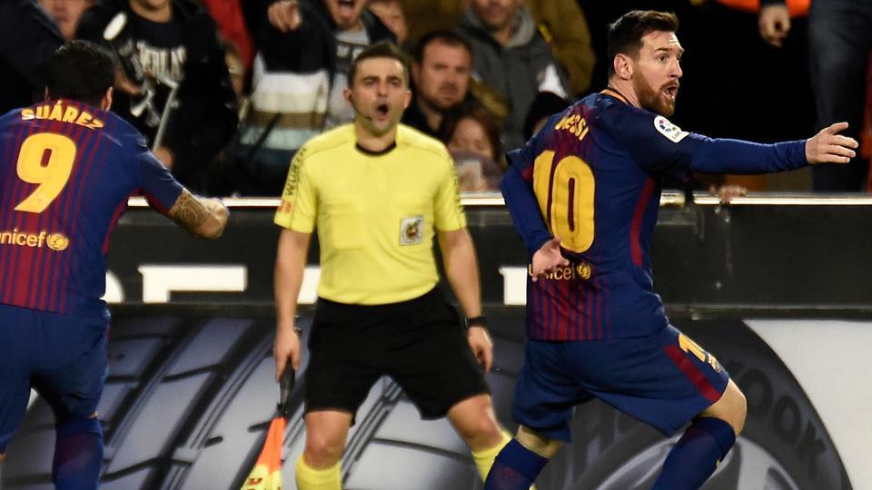 Fc Barcelona Messi Goal