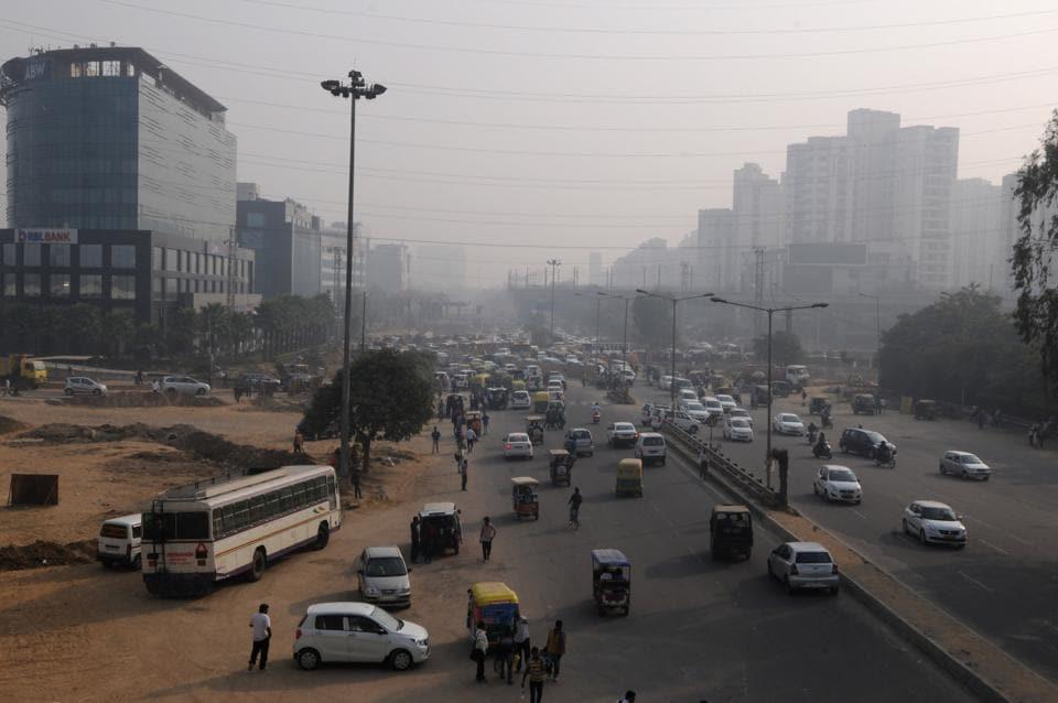 Gurugram,Parking issues,Gurgaon traffic police