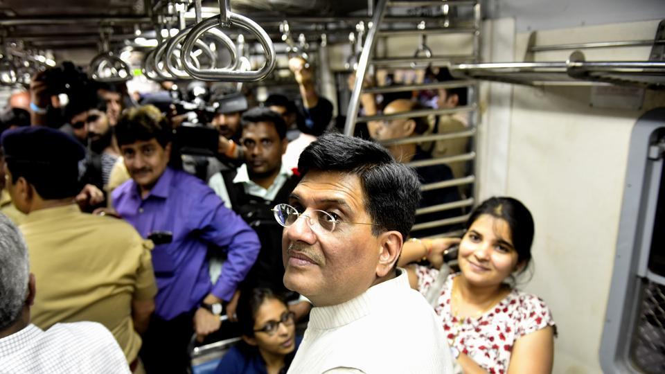 Mumbai,Piyush Goyal,railway minister