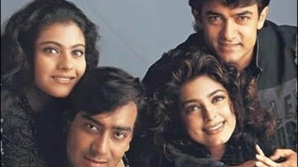 Starring Kajol, Ajay Devgn, Aamir Khan and Juhi Chawla, the 1997 film Ishq completes 20 years of release today.