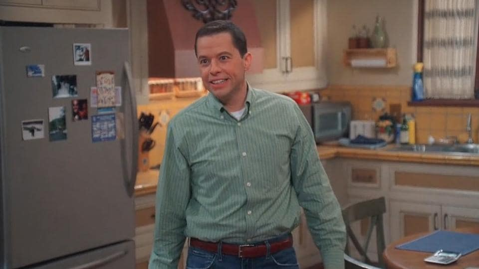 The word 'mooch' became famous because of the hit American TV show Two and a Half Men, in which actor Jon Cryer,who played the role of Alan Harper, mooches of his elder brother Charlie Harper,  played by actor Charlie sheen.