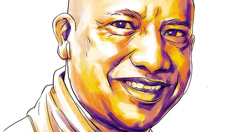 Uttar Pradesh chief minster Yogi Adityanath.
