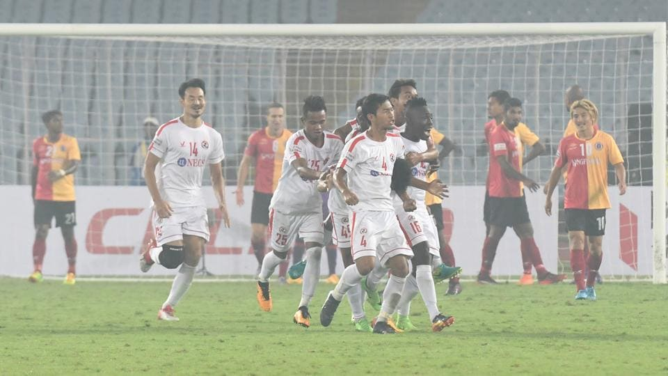 Aizawl FCdrew 2-2 against East Bengal in the I-League.