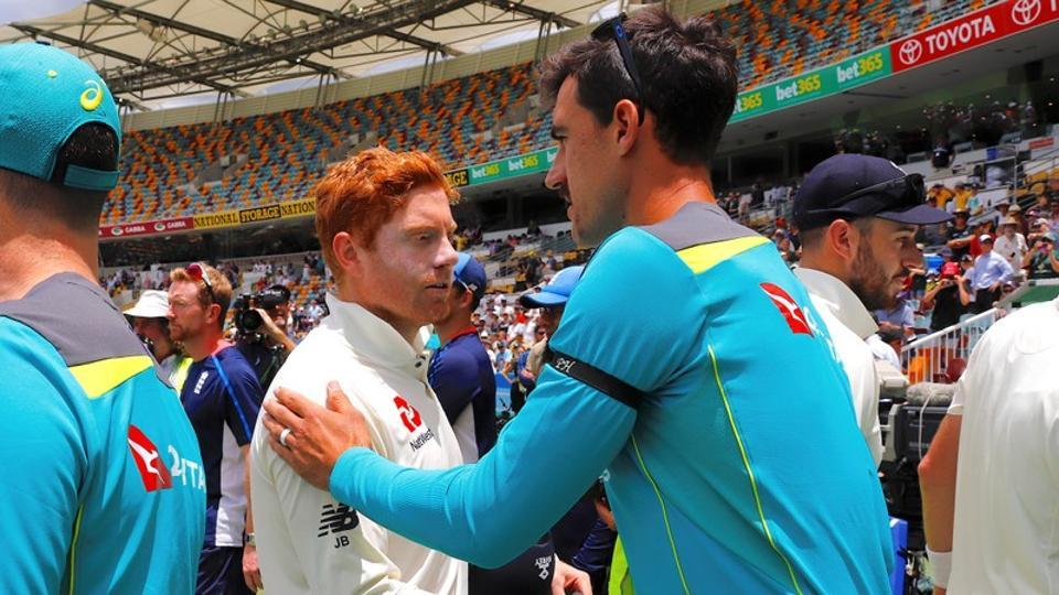 Jonny Bairstow was involved in a 'headbutt' incident with Cameron Bancroft just before the start of the 2017-18 Ashes series between Australia and England.