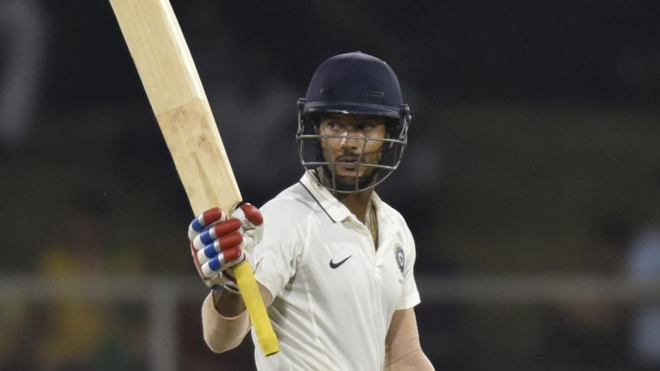 Mayank Agarwal is in red-hot form with his bat in the Ranji Trophy.