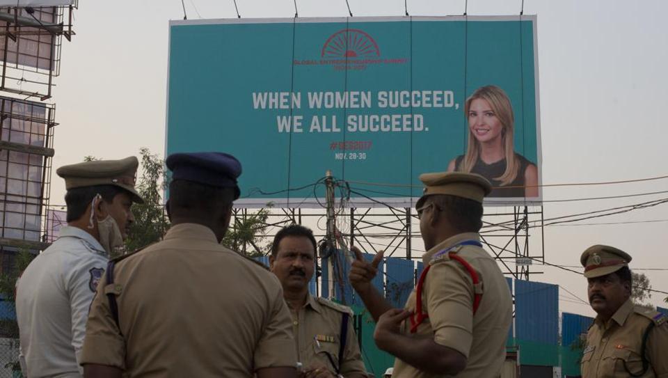 Ivanka Trump,Ivanka Trump Hyderabad,Trump daughter in Hyderabad
