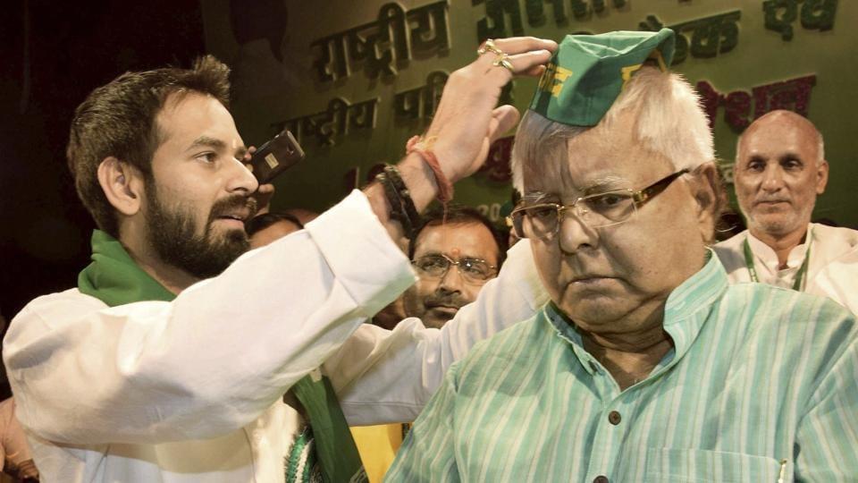 Tej Pratap Yadav,Narendra Modi,Lalu Prasad