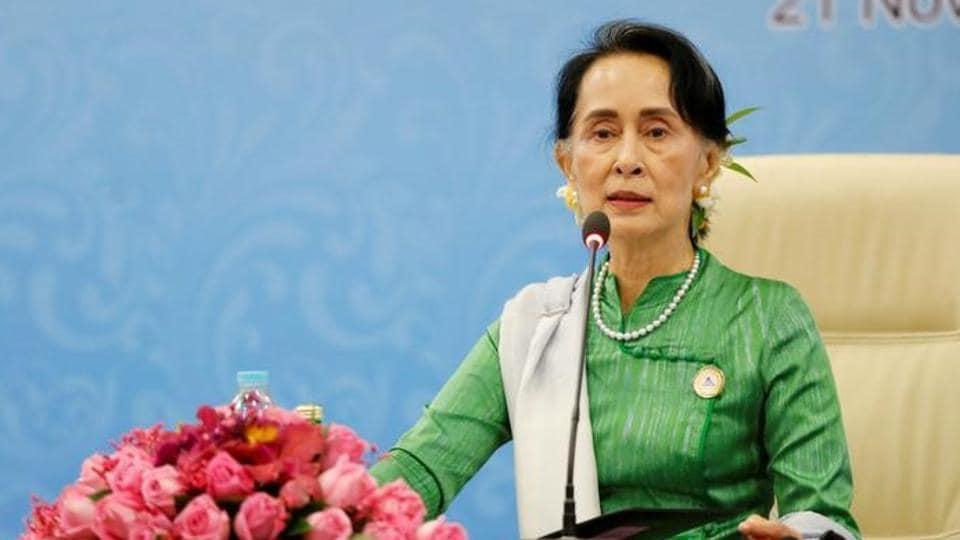 Suu Kyi,Oxford,Rohingya crisis