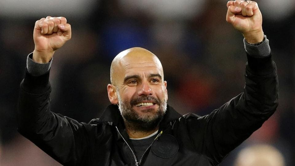 Manchester City manager Pep Guardiola has also managed FC Barcelona and Bayern Munich.