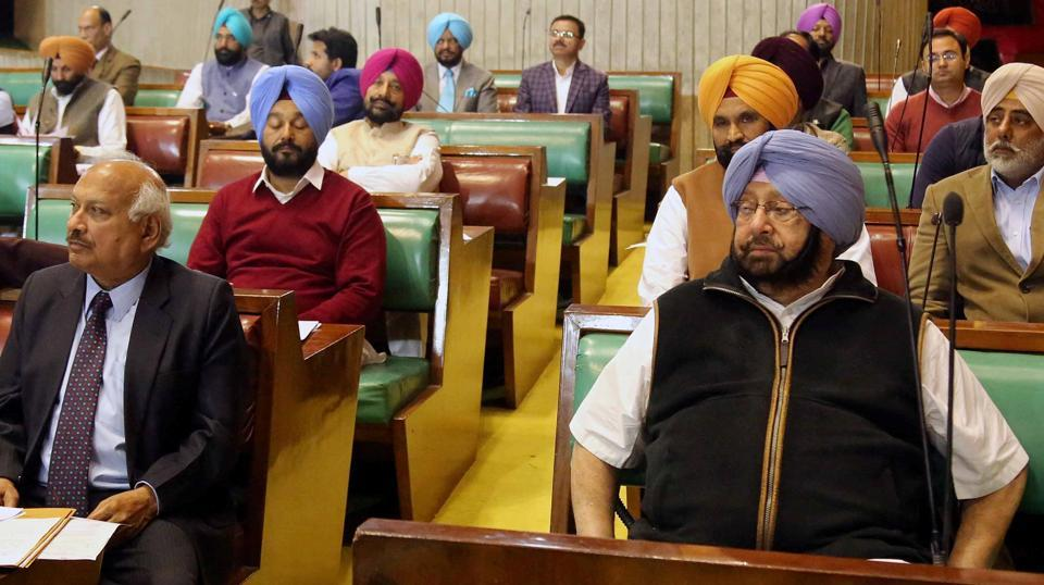 Finance minister Manpreet Badal presented the bill on behalf of chief minister Captain Amarinder Singh.