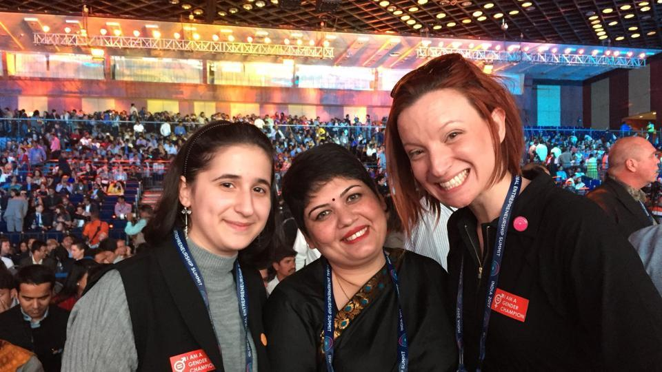 Youngest Women Entrepreneur honored at GES