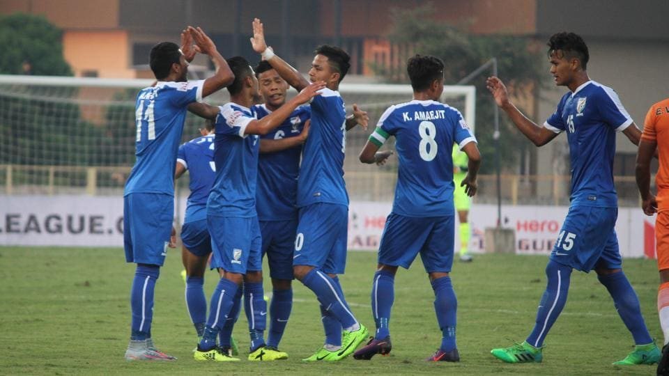 Indian Arrows stunned Chennai City 3-0 in their I-League opener on Wednesday.