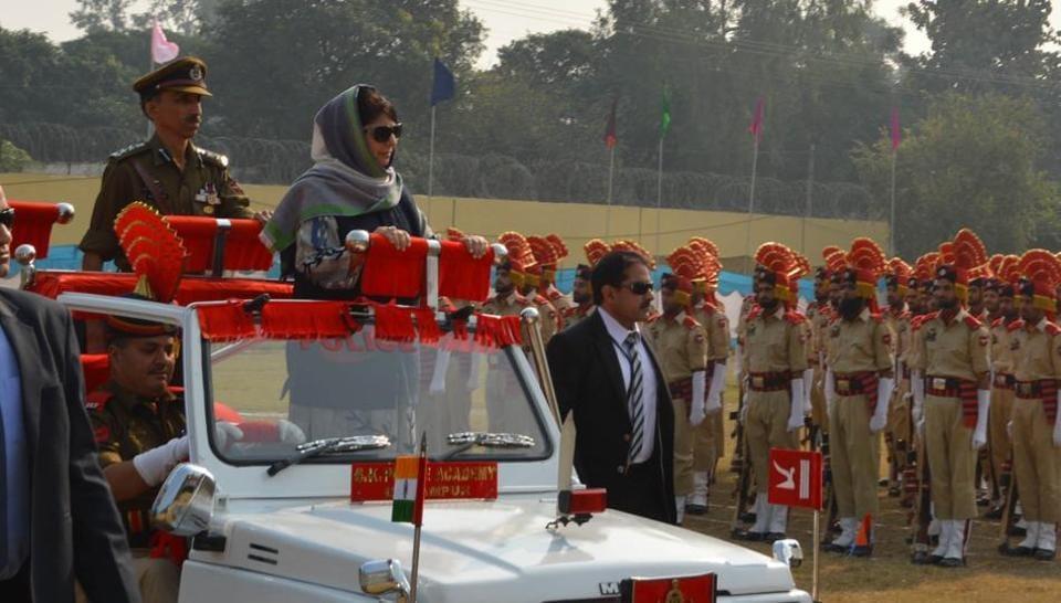 Jammu and Kashmir,Mehbooba Mufti,J&K Police