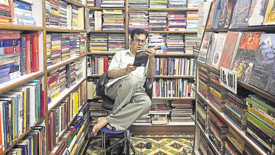 As one of New Delhi's few surviving book shops, the Amrit Book Company is very much a family enterprise, launched in 1936 by Punjabi immigrant Amit Dhar Nullay.