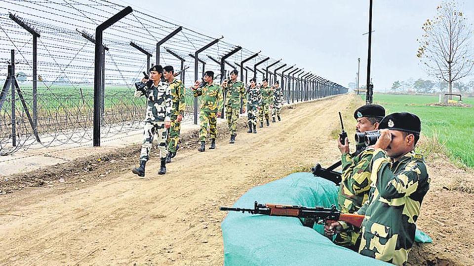 Indo-Bangla border,UAVs,Smart fence