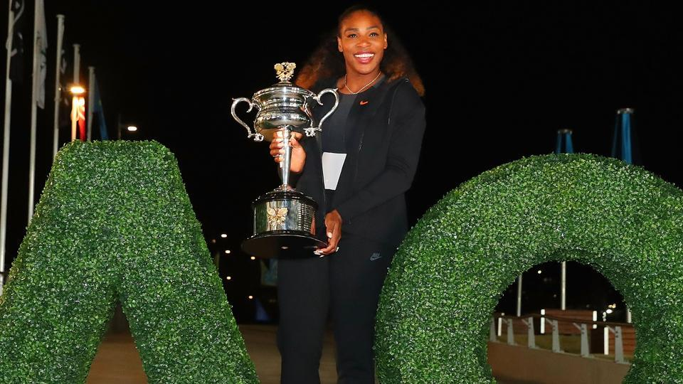 Serena Williams was around two months pregnant when she captured her 23rd Grand Slam singles title at the Australian Open in Melbourne this year.