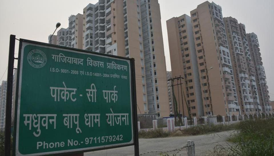 The housing scheme, bigger than Indirapuram, is spread over 1,234 acres of land from villages of Sadarpur, Mainapur, Naglapath, Yaqoobpur and Morta.