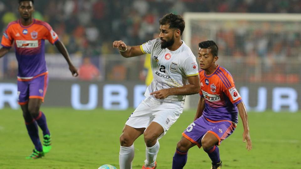 Mumbai put on an organised display in the first half and managed to go into the break with a 1-0 lead. (ISL)