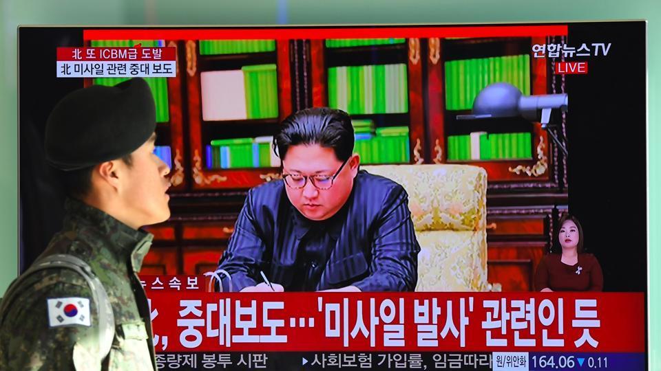North Korea,intercontinental ballistic missile,ICBM