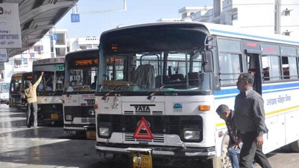 Diesel theft,roadways bus,UTC