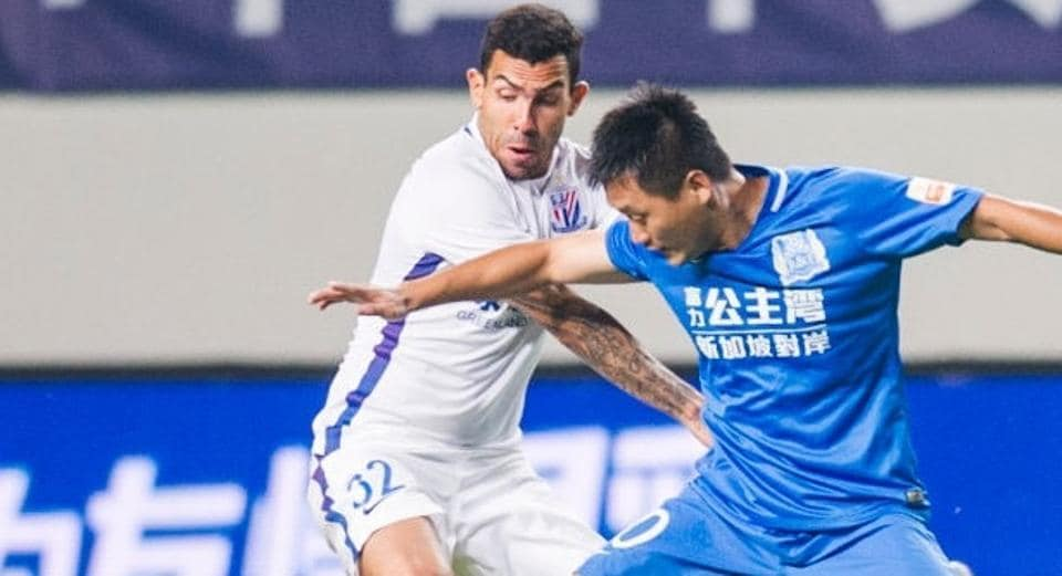 Carlos Tevez, who has had a successful professional football career playing for clubs such Manchester United and Juventus, has failed to impress in the Chinese Super League, playing for Shanghai Shenhua.