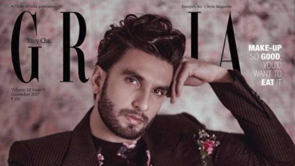 Ranveer Singh,Grazia,Fashion