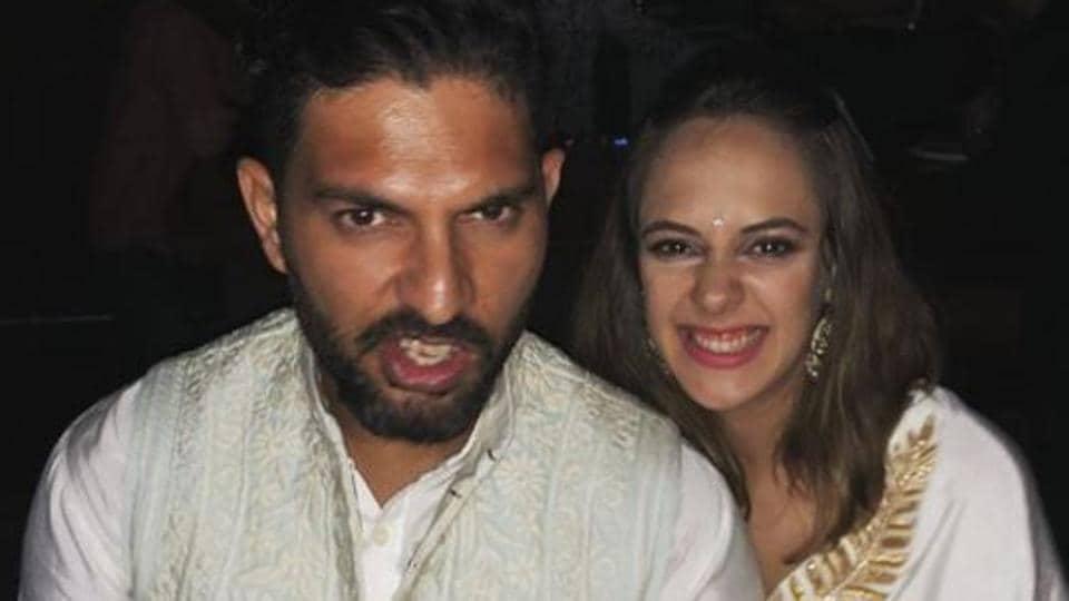 Yuvraj Singh,Hazel Keech,Sports Bollywood