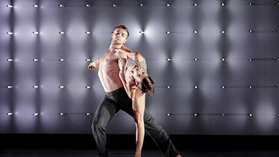 The choreography is characteristic of McGregor's style. Dancers create stunning movements through extraordinary limb-extensions, lifts and a seamless flow of dancers moulding into each other.
